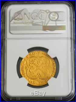 1364, Royal France, John II. Stunning Gold Cavalier Franc Coin. R! NGC MS-61