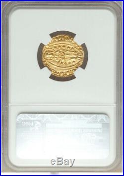 1400-13 Italian States Gold Ducat Venice Michael Steno NGC MS 64 NEAR GEM DUCAT