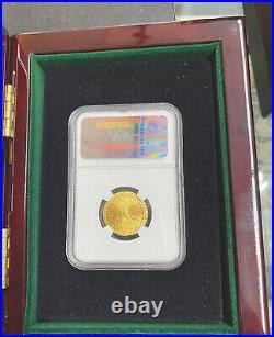 1787 Ephraim Brasher Half Doubloon Private Issue Struck 2011.999 Gold Ngc-gem
