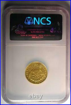 1802/1 Capped Bust Gold Quarter Eagle $2.50 Coin NGC VF Details Rare Date