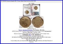 1807 FRANCE Napoleon Bonaparte BIG 40 Francs Antique French Gold Coin NGC i70400