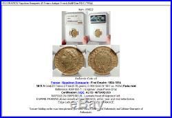 1811 FRANCE Napoleon Bonaparte 20 Francs Antique French Gold Coin NGC i70822