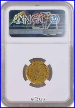 1837 CNB NA 20Z 20 Zlotych 3 Roubles Poland Gold NGC AU53 About Uncirculated
