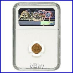 1851 $1 Liberty Head Gold Coin NGC AU 58