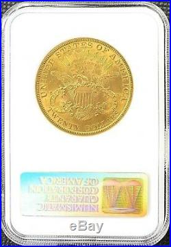 1899 $20 American Gold Double Eagle Liberty Head MS62 NGC LUSTROUS FULL Coin