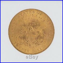 1904 Liberty Fine Gold Coin US $20 MS64 NGC Certificate Case Double Eagle