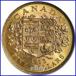 1913 Canada Gold $5 MS-62 NGC SKU#41631