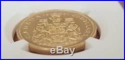 1967 Canada Vintage Gold $20 Confederation Centennial Coin SP 63