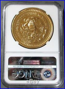 1986 MO GOLD MEXICO 964 MINTED 2oz 2000 PESOS WORLD CUP SOCCER GAMES NGC MS 66