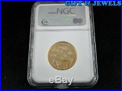 1987-p Ngc Pf69 Ultra Cameo American Eagle $25 1/2 Oz Fine Gold. 999 #363