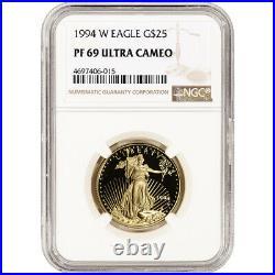 1994-W American Gold Eagle Proof 1/2 oz $25 NGC PF69 UCAM