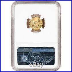 1995 American Gold Eagle 1/10 oz $5 NGC MS69