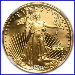 1/10 oz Proof Gold American Eagle PF-69 NGC (Random Year) SKU #83517