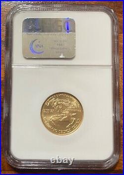 1/4 Oz. Gold Eagles 2003 Eagle G$10 Ms