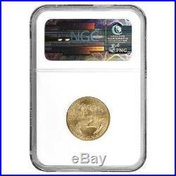 2000 1/4 oz $10 Gold American Eagle NGC MS 69