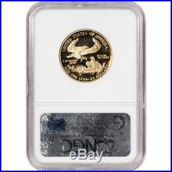 2001-W American Gold Eagle Proof 1/2 oz $25 NGC PF70 UCAM