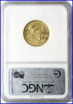 2006 $10 Gold Eagle NGC MS70