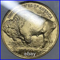 2006 1 oz Gold Buffalo $50 NGC MS70 First Strikes