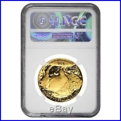 2006 W 1 oz $50 Proof Gold American Buffalo NGC PF 70 UCAM
