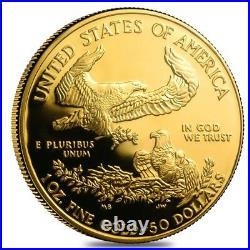 2006 W 1 oz $50 Proof Gold American Eagle NGC PF 70 UCAM