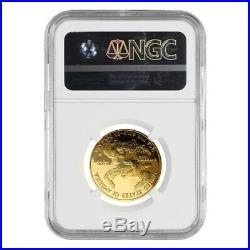 2007 W 1/2 oz $25 Proof Gold American Eagle NGC PF 70 UCAM