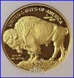 2007-W American Gold Buffalo Proof 1 oz $50 NGC PF70 UCAM Early Releases