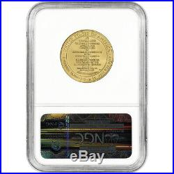 2007-W US First Spouse Gold 1/2 oz BU $10 Thomas Jefferson's Liberty NGC MS70