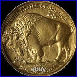 2008 Buffalo Gold $50.9999 Fine NGC MS70 Brown Label STOCK