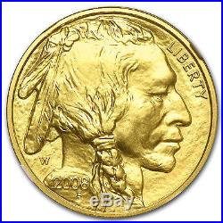 2008-W 1/2 oz Gold Buffalo MS-70 NGC SKU #61343