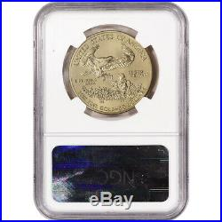 2009 American Gold Eagle (1 oz) $50 NGC MS70 Early Releases
