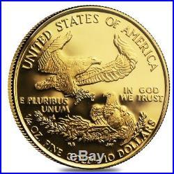 2010 W 1/4 oz $10 Proof Gold American Eagle NGC PF 70 UCAM