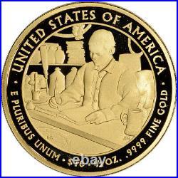2010-W US First Spouse Gold 1/2 oz Proof $10 James Buchanan's Liberty NGC PF70