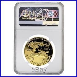 2011 W 1 oz $50 Proof Gold American Eagle NGC PF 70 UCAM