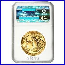 2012 1 oz $50 Gold American Buffalo NGC MS 70