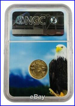 2013 $5 Gold Eagle NGC MS70 Eagle Core Brown Label