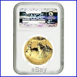 2013 W 1 oz $50 Reverse Proof Gold American Buffalo NGC PF 69