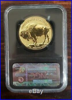 2013 W $50 1oz Reverse Proof American Gold Buffalo PF69 NGC Buffalo Label. 999