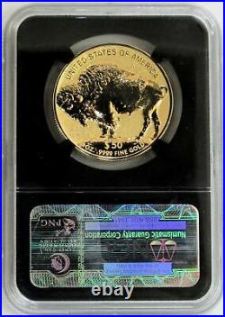 2013 W GOLD 1oz $50 BUFFALO 100th ANNIVERSARY COIN NGC REVERSE PROOF 70 RETRO