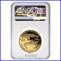 2014 W 1 oz $50 Proof Gold American Eagle NGC PF 70 UCAM
