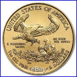 2015 1/10 oz Gold American Eagle BU SKU #84886
