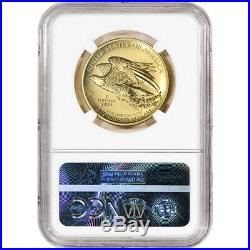 2015-W American Liberty Gold High Relief 1 oz $100 NGC MS70 Early Releases USMA