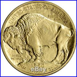 2016 American Gold Buffalo (1 oz) $50 NGC MS70 Early Releases Large Label