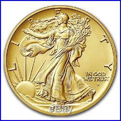 2016-W 1/2 oz Gold Walking Liberty Half Dollar SP-70 NGC (ER/FR) SKU #95507