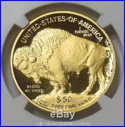 2016 W $50 GOLD BUFFALO PROOF 1oz NGC PF70 UCAM FIRST DAY OF ISSUE