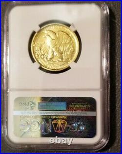 2016 W Gold Walking Liberty 1/2 oz 24KT NGC SP70 PERFECT! . Centennial E Release