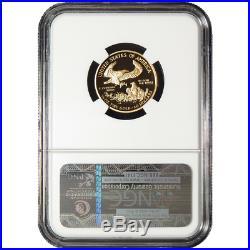 2016-W Proof $10 American Gold Eagle 1/4 oz NGC PF69UC 30th Anniv. ER Label
