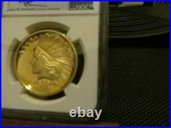2017 1oz SAINT GAUDENS DOUBLE INDIAN EAGLE GOLD HIGH RELIEF NGC PF70