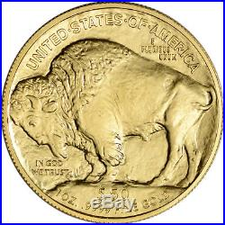 2017 American Gold Buffalo (1 oz) $50 NGC MS70 First Day Issue 1st Label Black