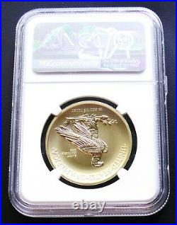 2018 National Park 1oz Gold Winged Liberty Ultra High Relief NGC PF70 Reverse PF
