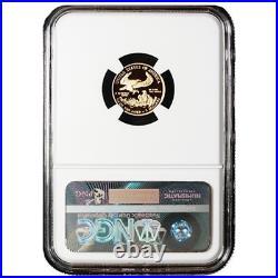 2018-W Proof $5 American Gold Eagle 1/10 oz NGC PF70UC FDI First Label